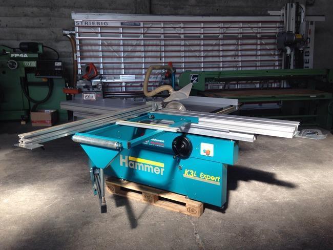 Hammer K3L expert slidingtable saw